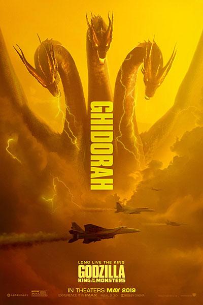 Godzilla: King of Monsters (2019) - Ghidorah