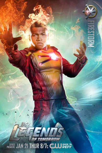 "DC's Legends of Tomorrow -  Jefferson ""Jax"" Jackson / Firestorm (รับบทโดย Franz Drameh)"