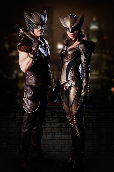 DC's Legends of Tomorrow - Carter Hall / Hawkman และ Kendra Saunders / Hawkgirl (รับบทโดย Falk Hentschel และ Ciara Renée)