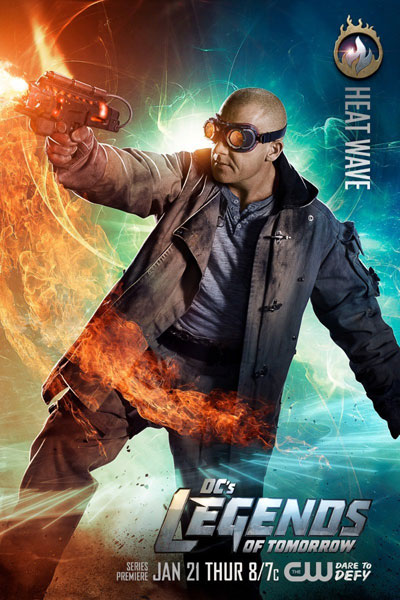 DC's Legends of Tomorrow - Mick Rory / Heat Wave (รับบทโดย Dominic Purcell)