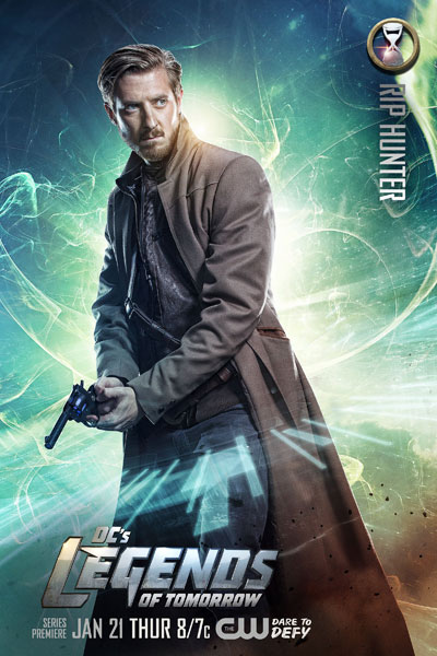 DC's Legends of Tomorrow - Rip Hunter (รับบทโดย Arthur Darvill)