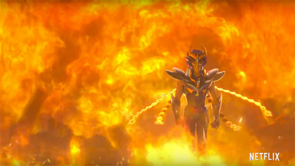 Knights of the Zodiac: Saint Seiya - Phoenix Nero
