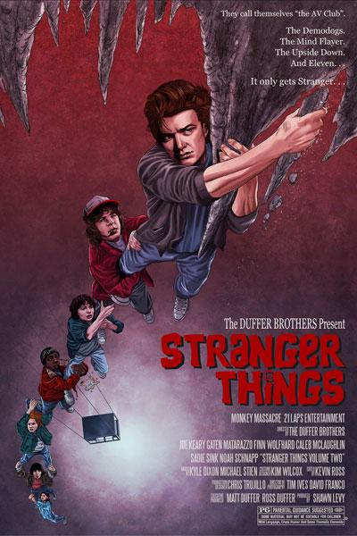 Stranger Things VS the Goonies