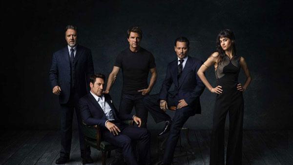 เหล่านักแสดงที่มารวมจอยในโปรเจค Dark Universe