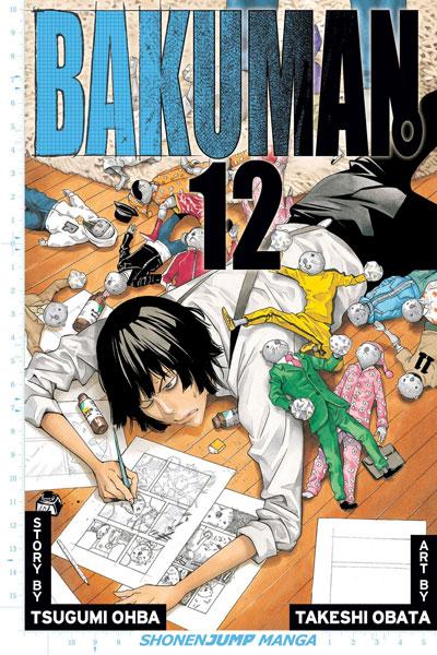 Bakuman: วัยซนคนการ์ตูน 12